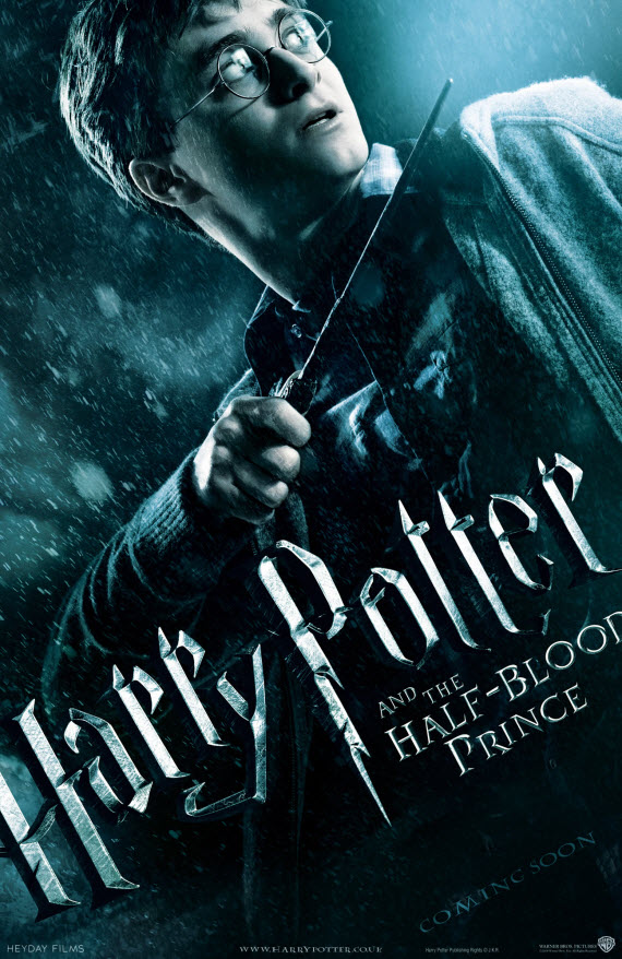 """Harry Potter et le Prince de Sang-Mêlé - Crédit Flickr """"jdxyw"""""""