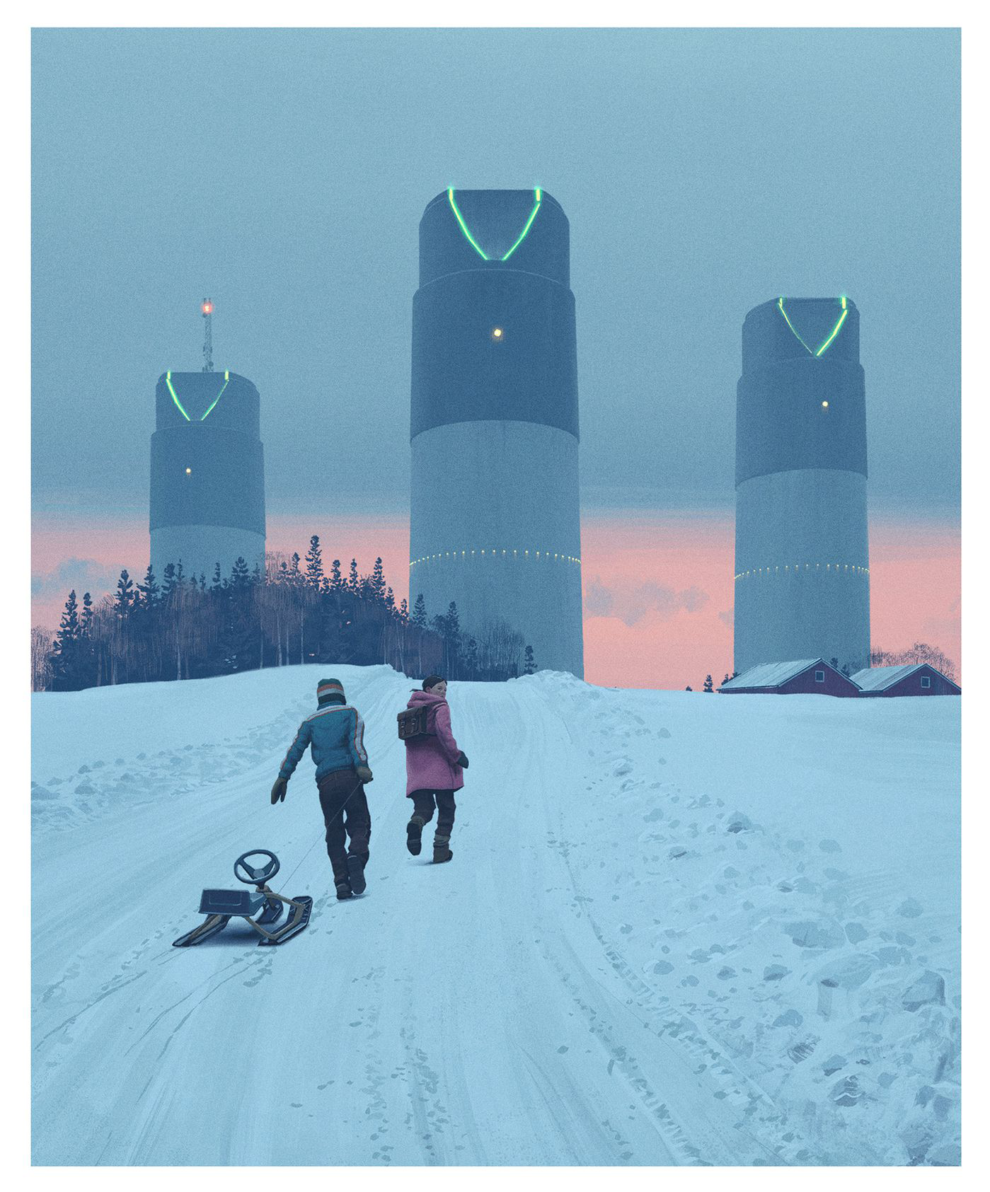 Tales from the loop - simon-stalenhag